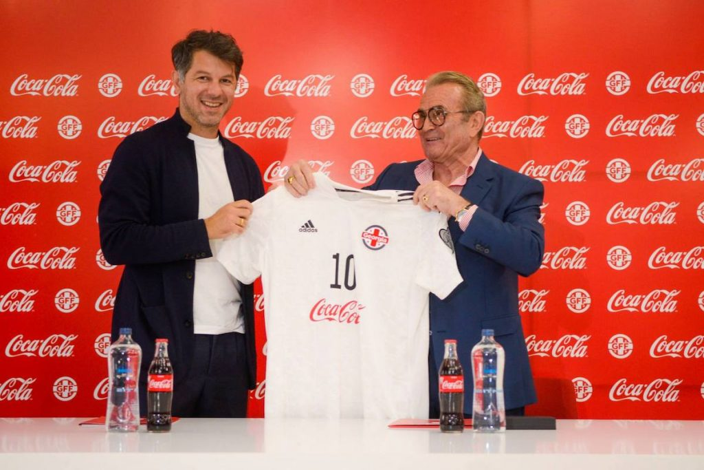 Coca-Cola стала партнером Федерации футбола Грузии