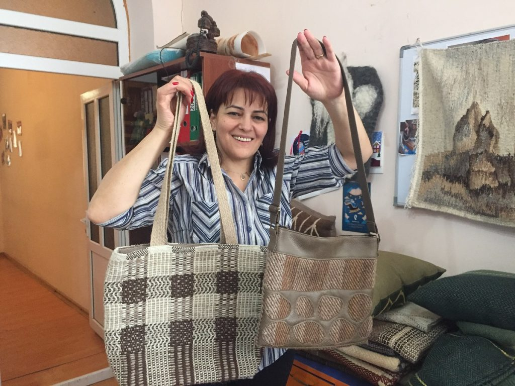 women are helped by the resource center of Goris