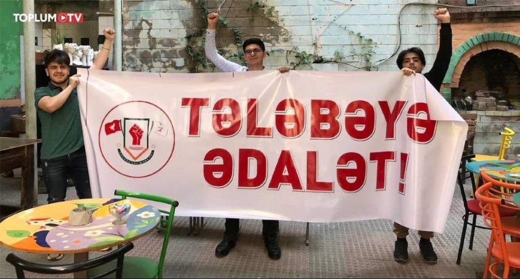 В Баку разогнали акцию протеста студентов, есть задержанные