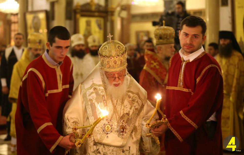Патриарх Грузии говорил о гендерной идентичности и роботах в пасхальном обращении к народу 2 мая 2021 года