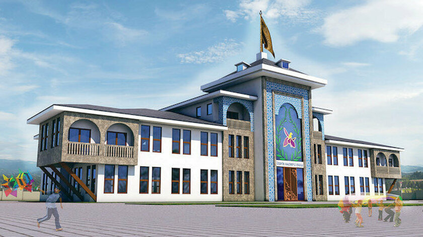 build a school in the city of Shusha