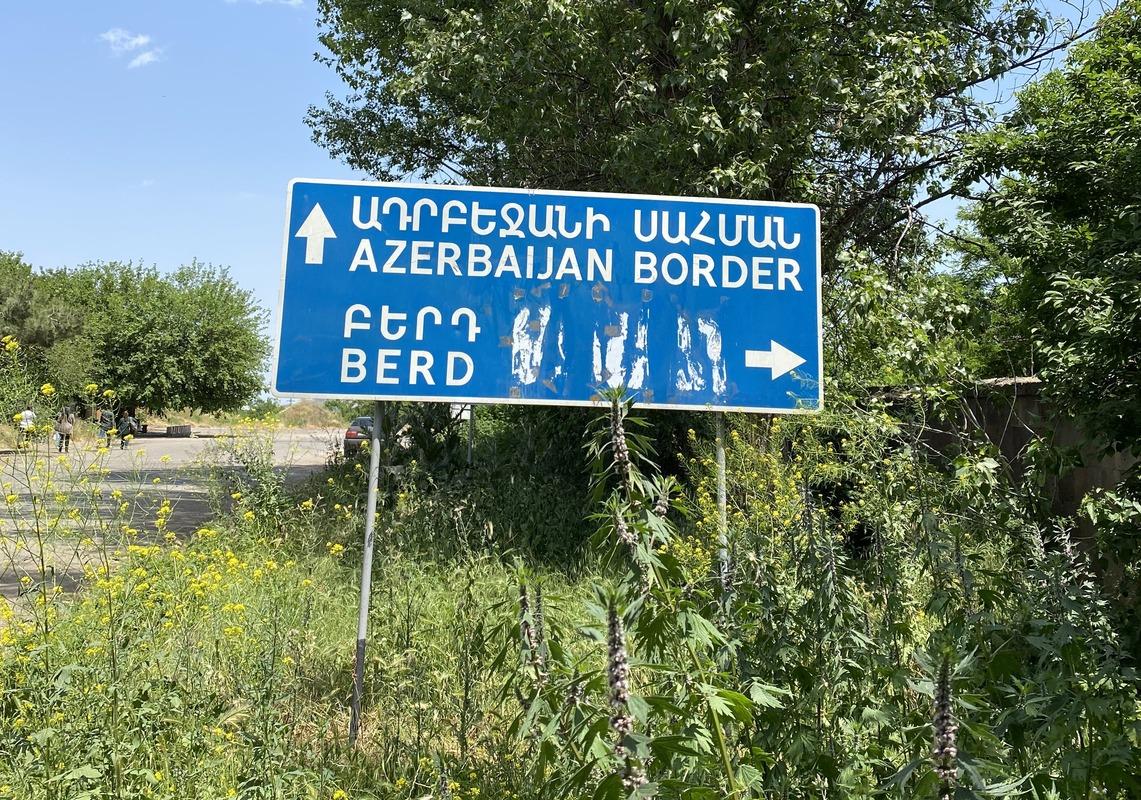 демаркация армяно-азербайджанской границы