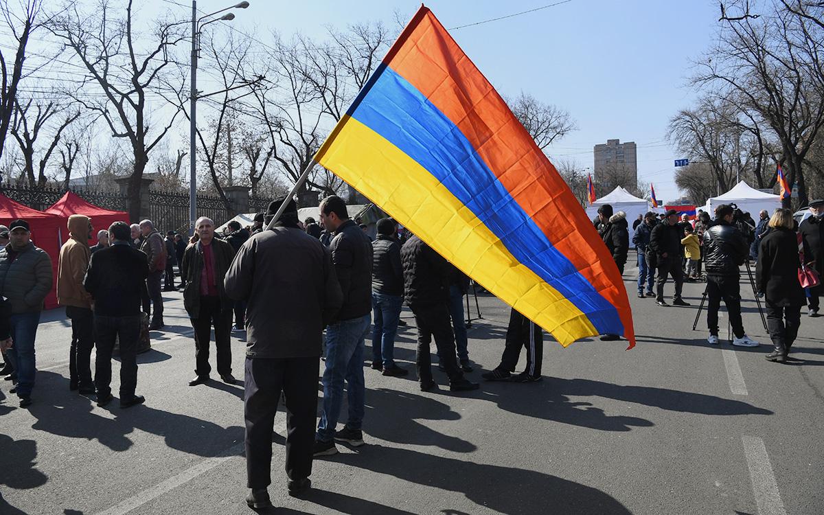 предвыборная кампания в Армении