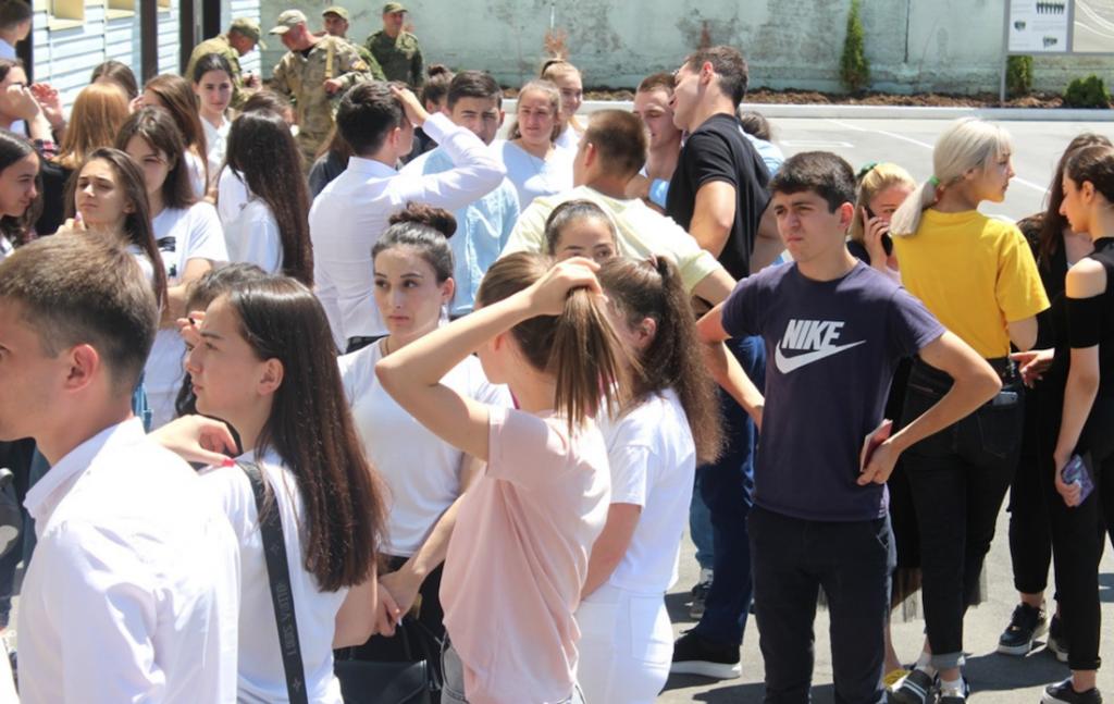 South Ossetian school graduates prefer Russian universities