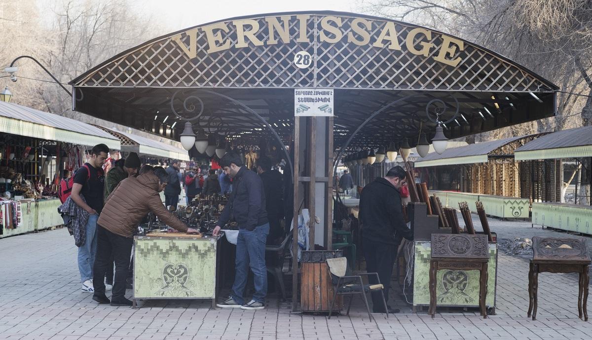 Վերնիսաժի վաճառողները