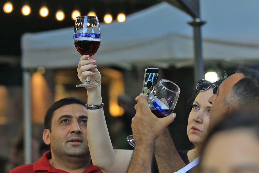 annual Yerevan Wine Days festival