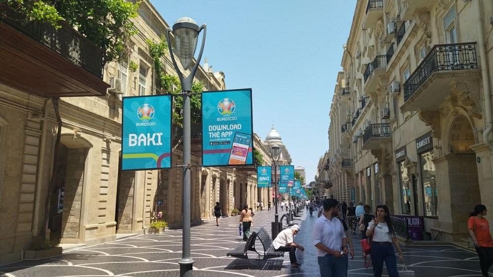 European Football Championship in Baku