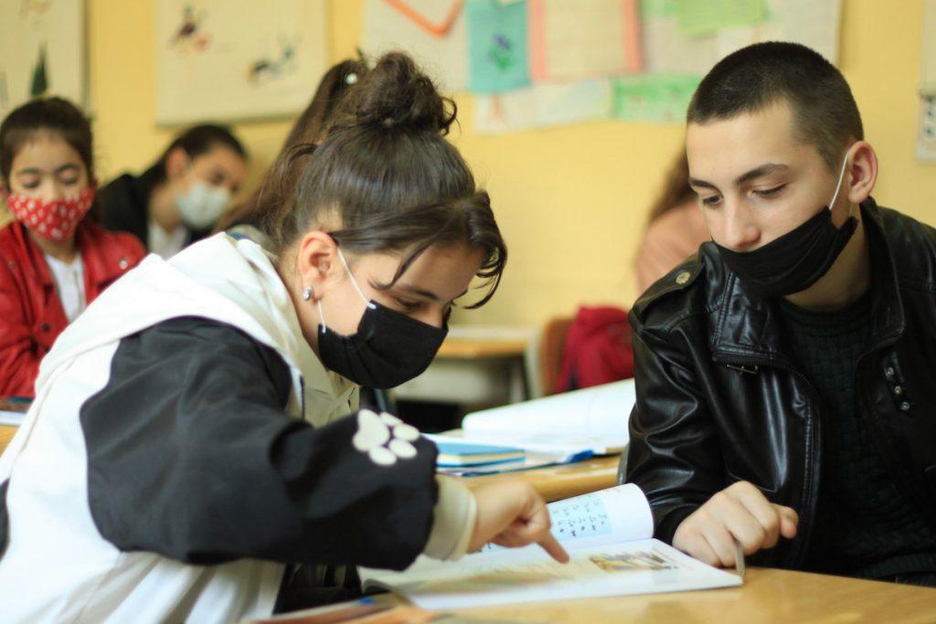 Abkhazians in Achara learn their native language