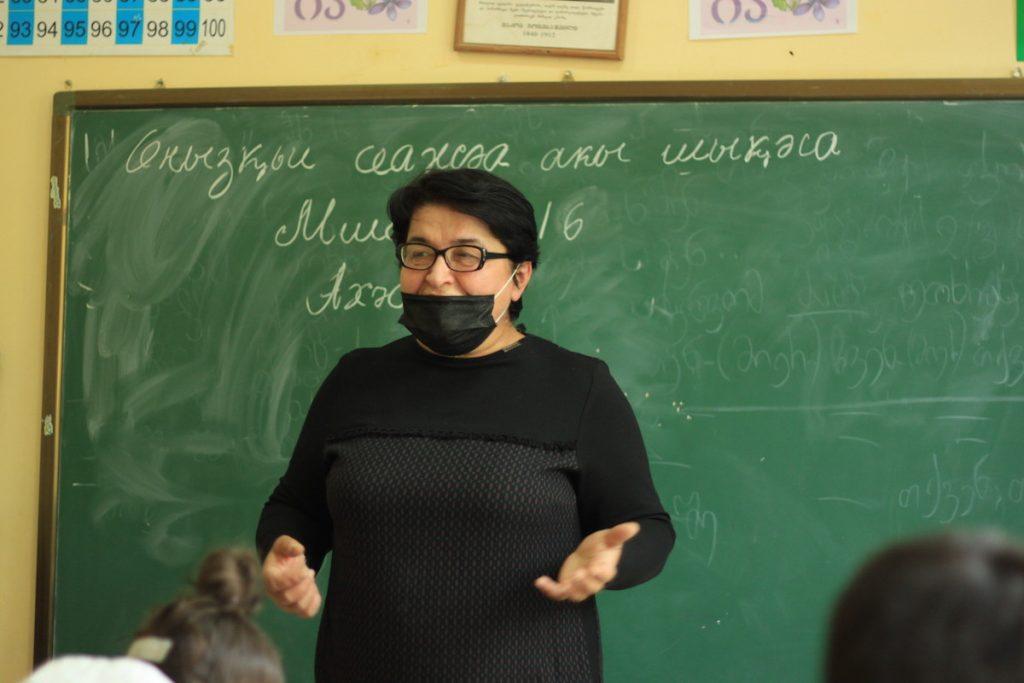 Լիանա Այկուցբան աբխազերեն է դասավանդում