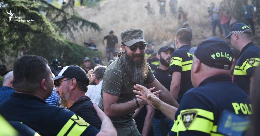 Pride в Тбилиси: драка с полицией и аресты. Фото: Радио Свобода
