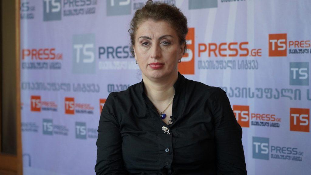 Էլիսո Ջանաշիա, լրագրող և ակտիվիստ Փոթիից, Վրաստան։ Լուսանկարը՝ Դավիթ Պիպիայի, JAMnews