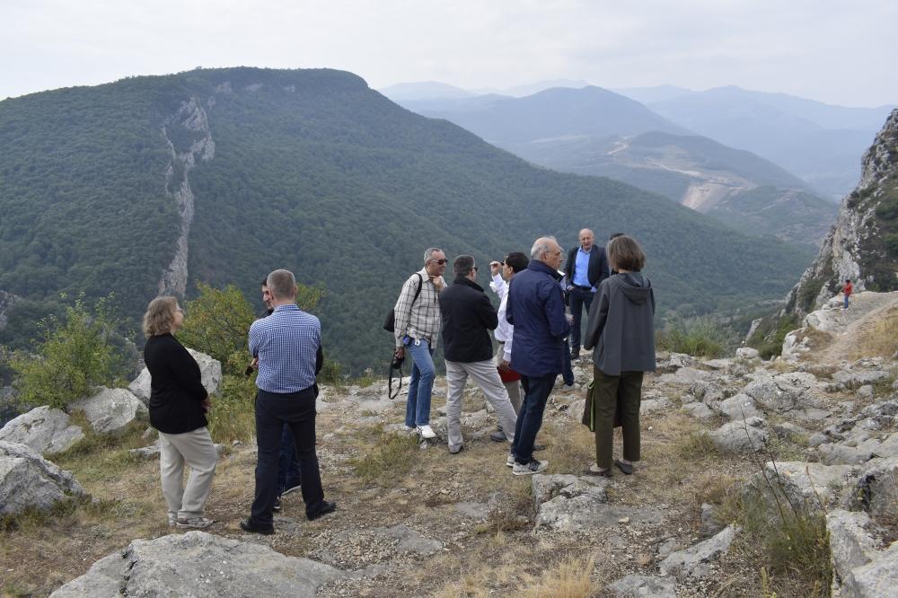 in Azerbaijan visited Shusha