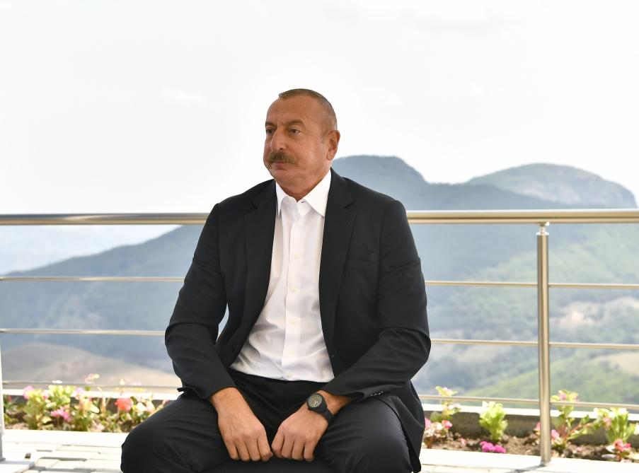Ilham Aliyev expressed his opinion