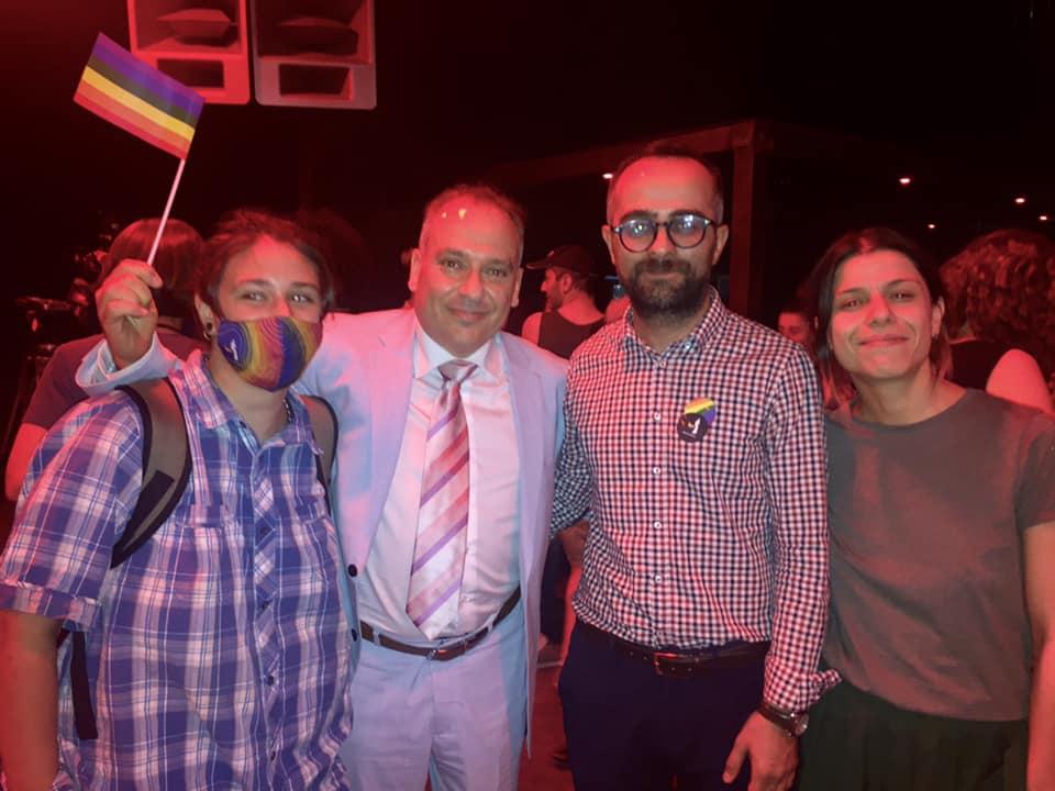 Посол Израиля в Грузии Ран Гидор. Pride в Тбилиси: драка с полицией и аресты