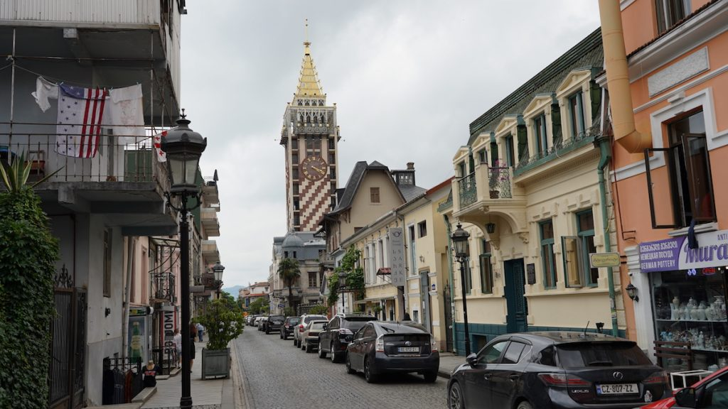 summer tourist season has begun in Georgia