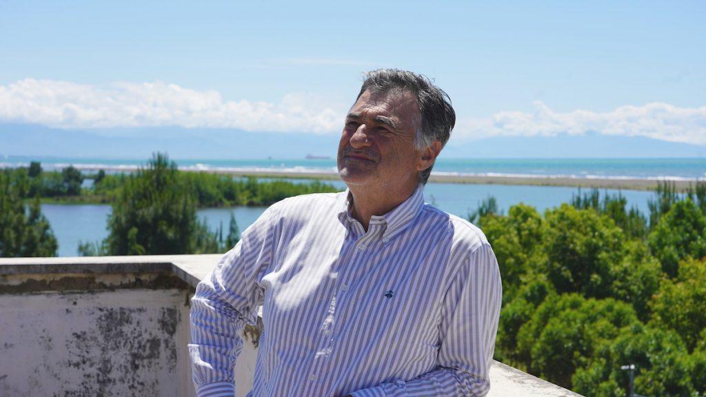 Վախթանգ Ալանիա, Փոթիի նախկին քաղաքապետ, Վրաստան։ Լուսանկարը՝ Դավիթ Պիպիայի, JAMnews