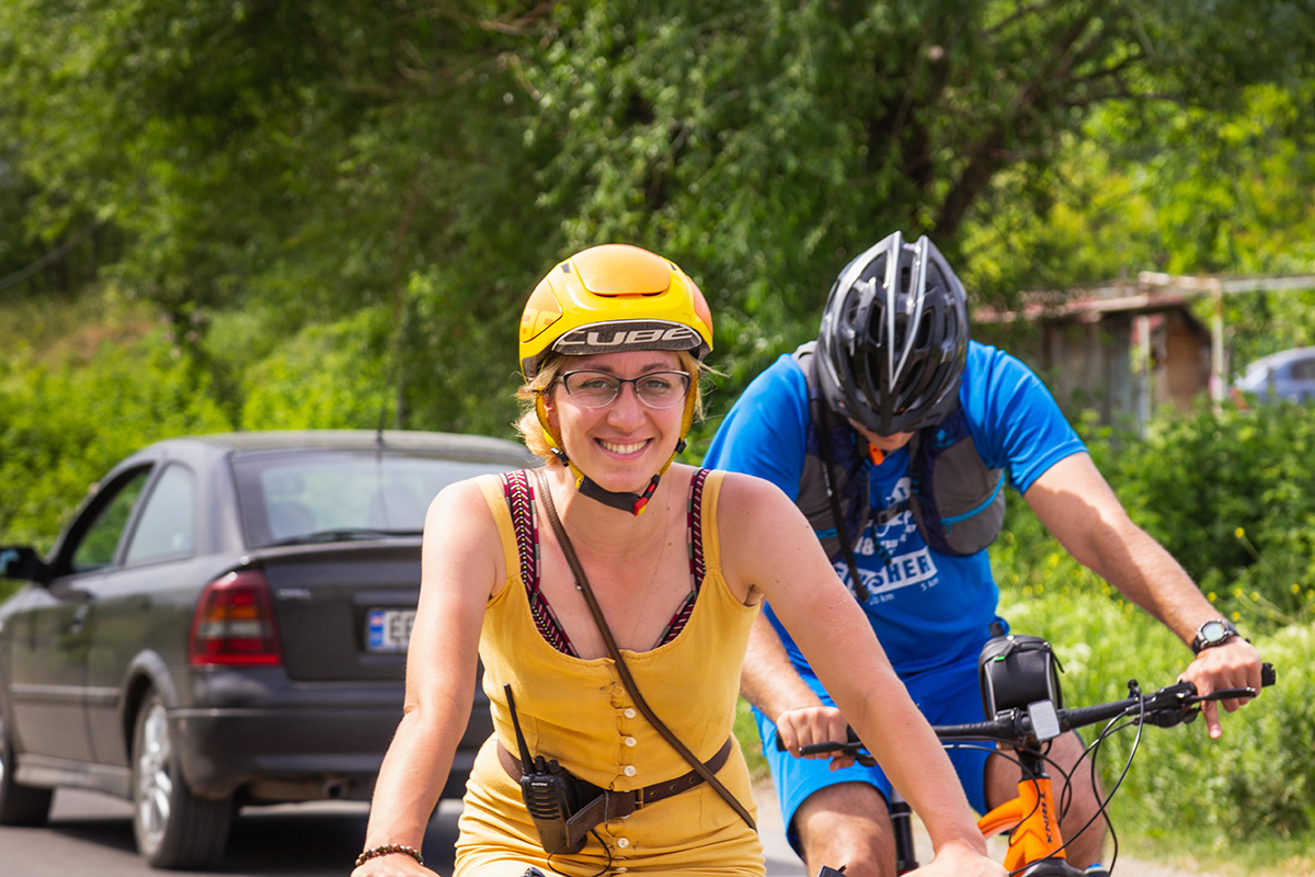 Bicycling in Tbilisi