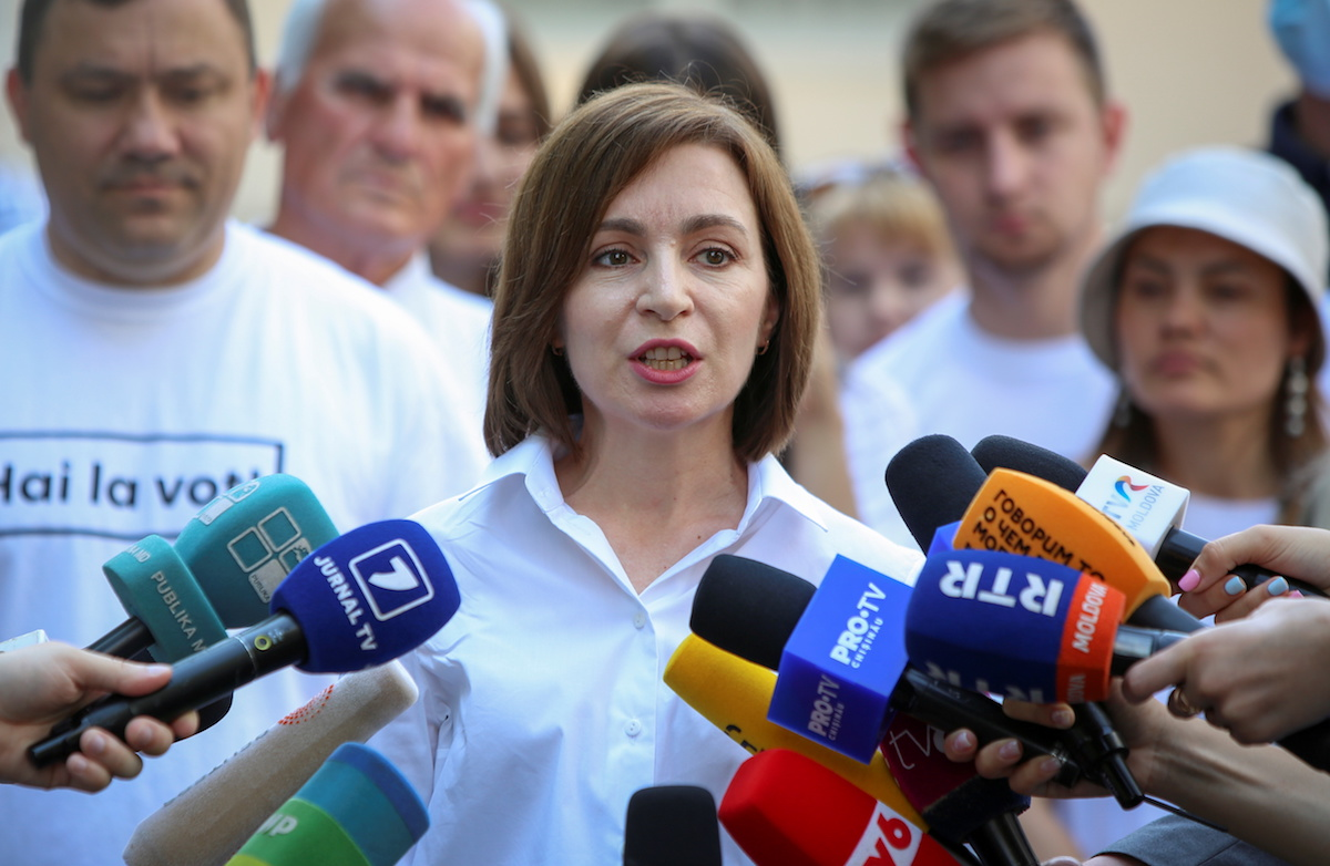 Մոլդովայում հաղթել է Մայա Սանդուի եվրոպամետ կուսակցությունը