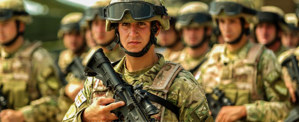 multinational NATO military exercise