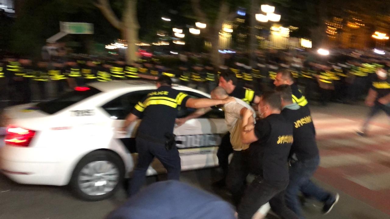 Ավելի քան 100 ուլտրաաջ է ձերբակալվել Թբիլիսիում