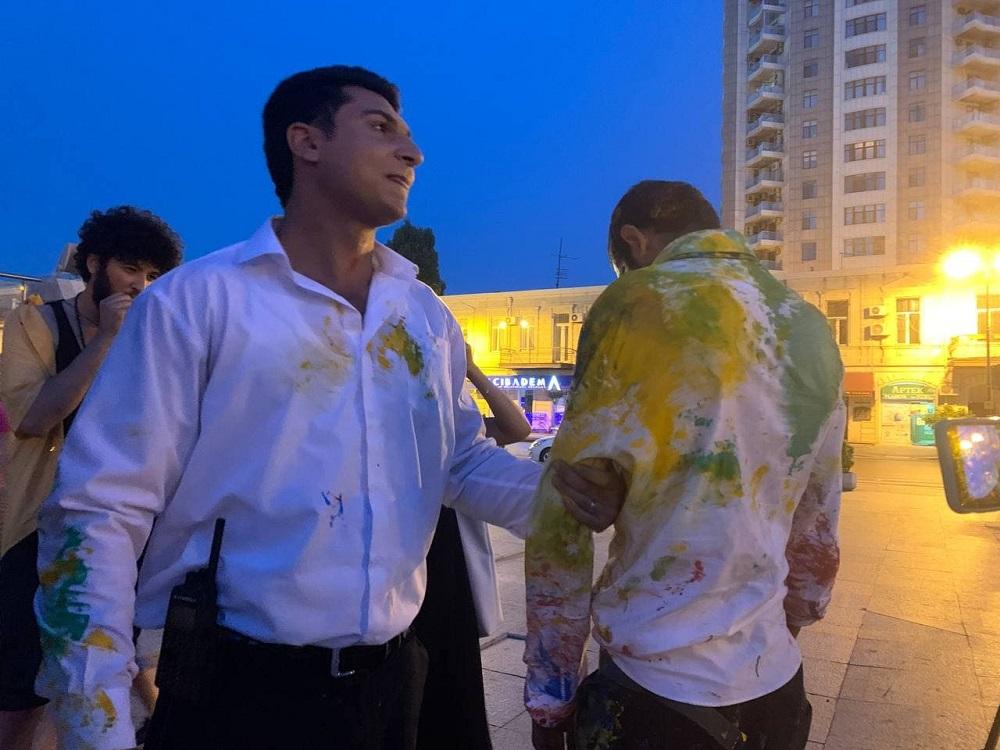 Actor detained for street dancing in Baku