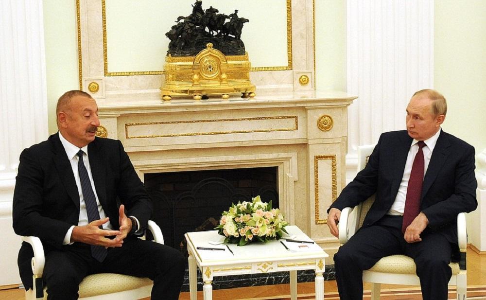 Встреча Путина с Алиевым