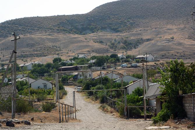 Vazgenashen village (in Azerbaijan this village is called Gulably)