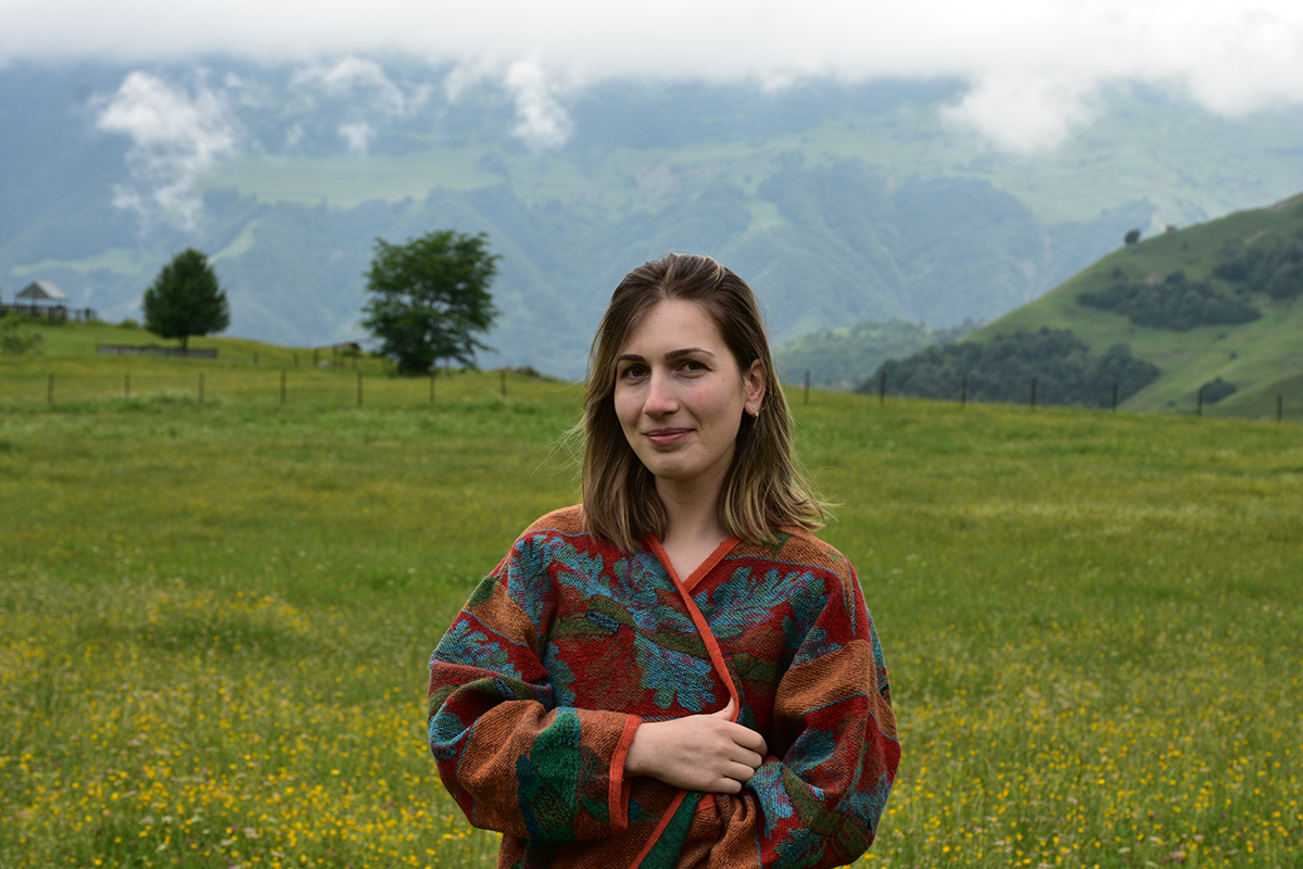 Mariam Devidze about solar panel systems in Georgia.