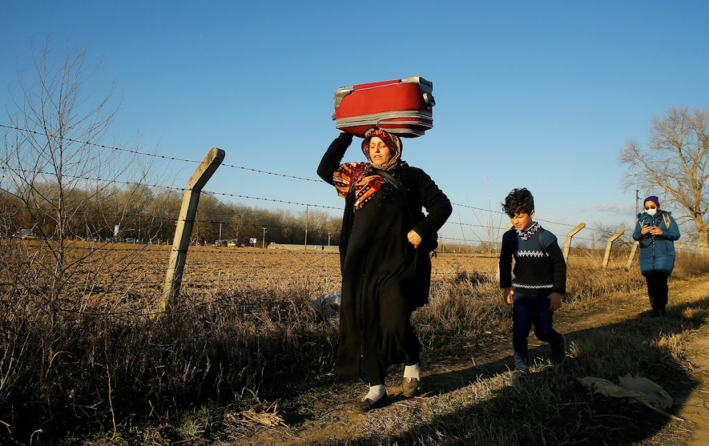 Syrian and Afghan refugees in Turkey
