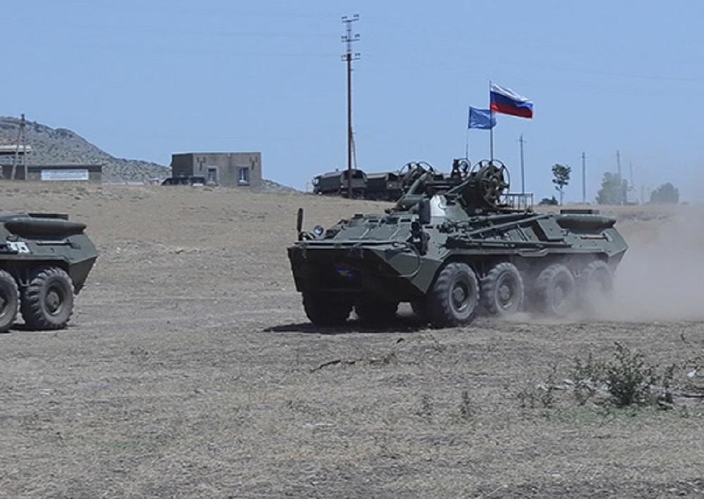 Баку обвиняет миротворцев РФ