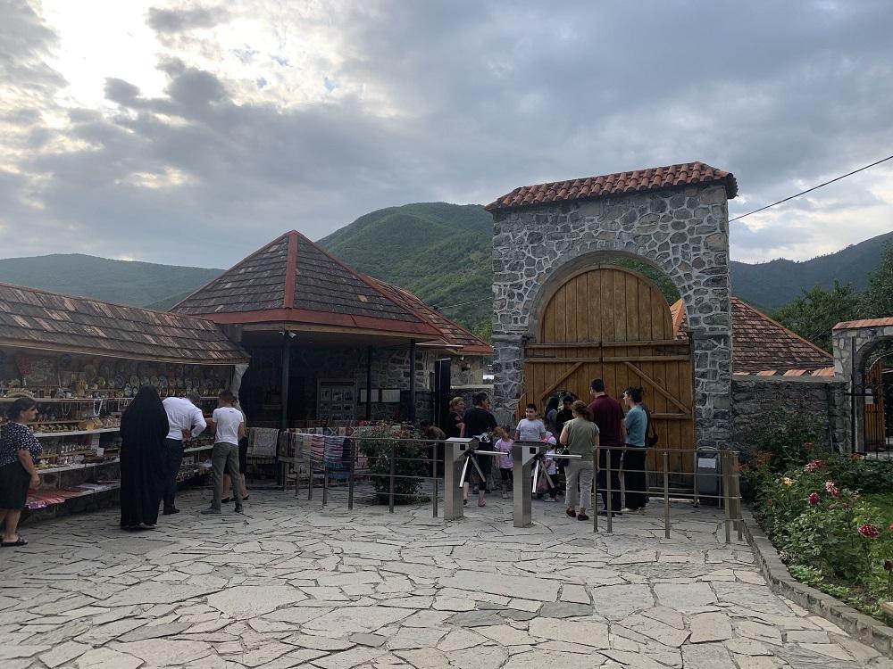 ancient Albanian church