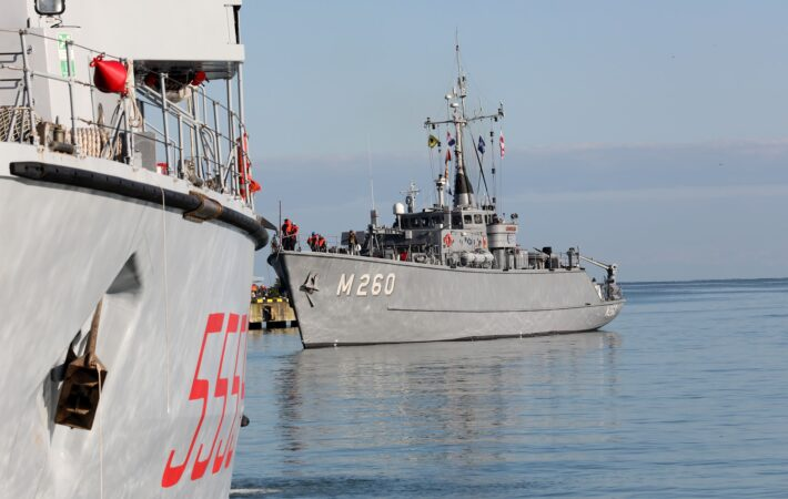 NATO ships entered the port of Batumi