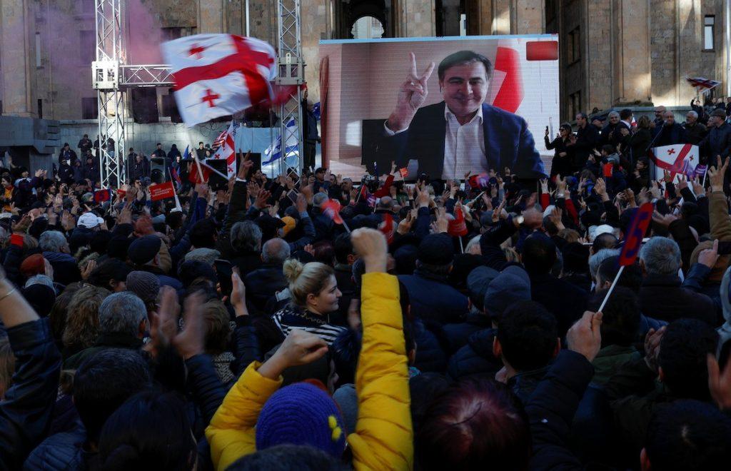 Ex-president Saakashvili's return to Georgia