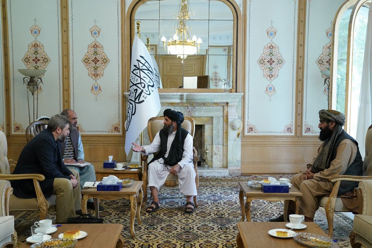 South Ossetian representative in talks with Taliban may turn out to be an impostor