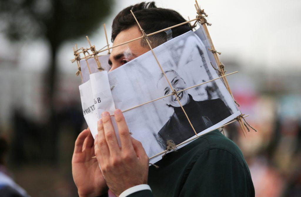 Բելառուսական ցույցերի առաջնորդներից մեկը՝ Կոլեսնիկովան, դատապարտվել է 11 տարվա ազատազրկման