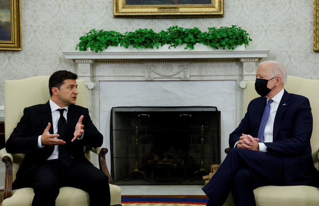 Zelensky and Biden discussed defense assistance