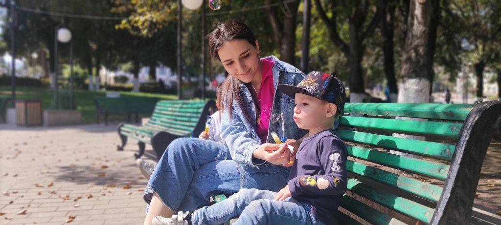 დედაქალაქის პარკში. ფოტო: JAMnews