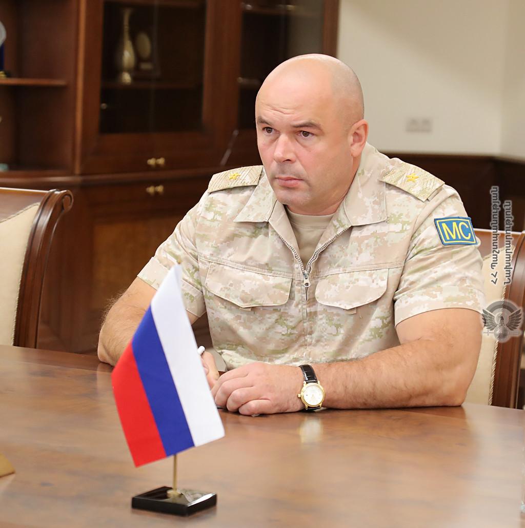 ՀՀ պաշտպանության նախարարն ընդունել է Միխայիլ Կոսոբոկովին