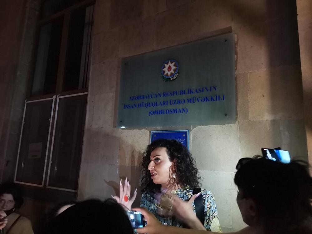 transgender woman was burnt alive in Azerbaijan