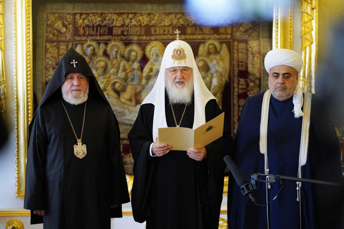 հանդիպել են Հայաստանի և Ադրբեջանի հոգևոր առաջնորդները