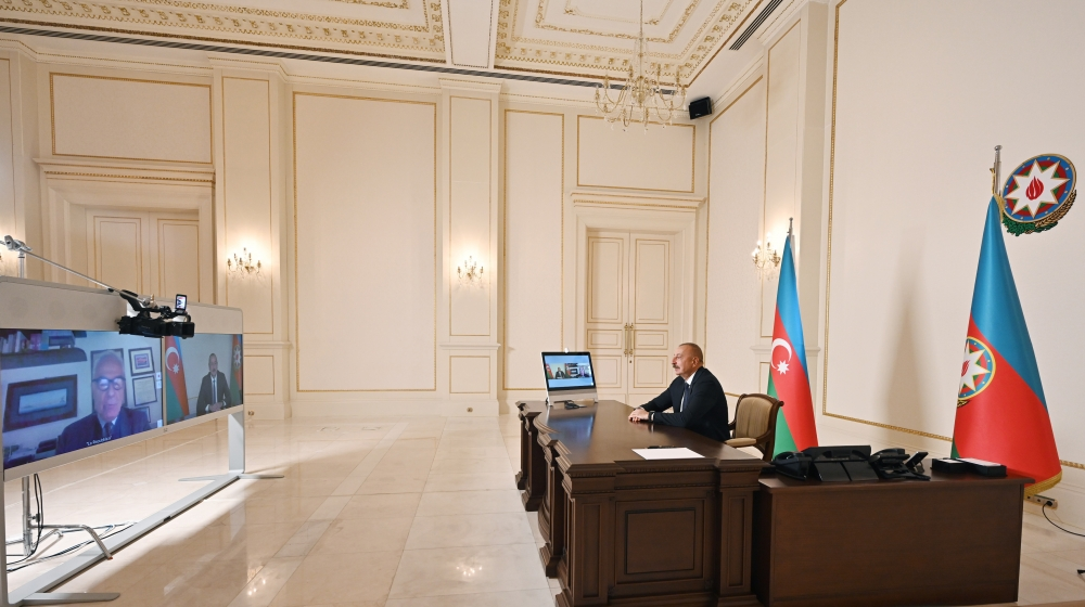 President Aliyev commented on Pandora Papers