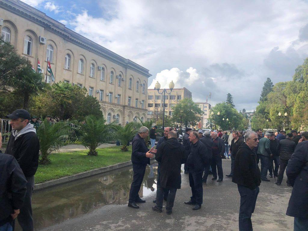 Political crisis in Abkhazia