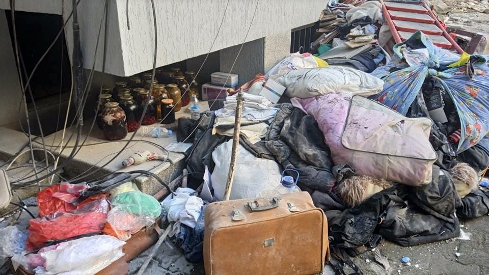 Разрушение дома в Батуми 8 октября. Фото Назиброла Рехвиашвили.