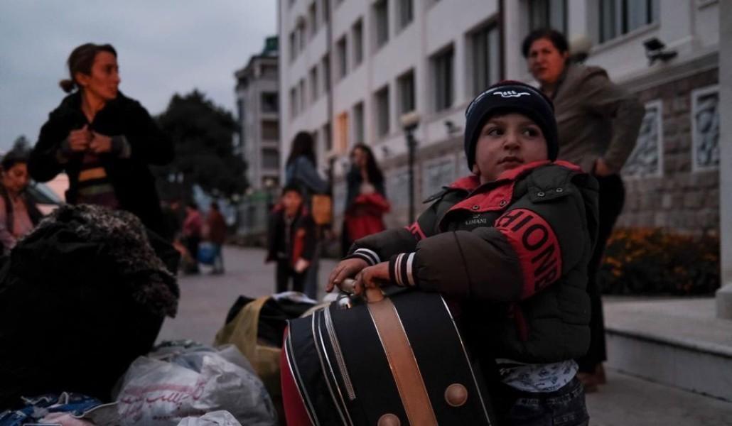 ԼՂ բնակիչները տեղահանվել և տեղափոխվել են Հայաստան