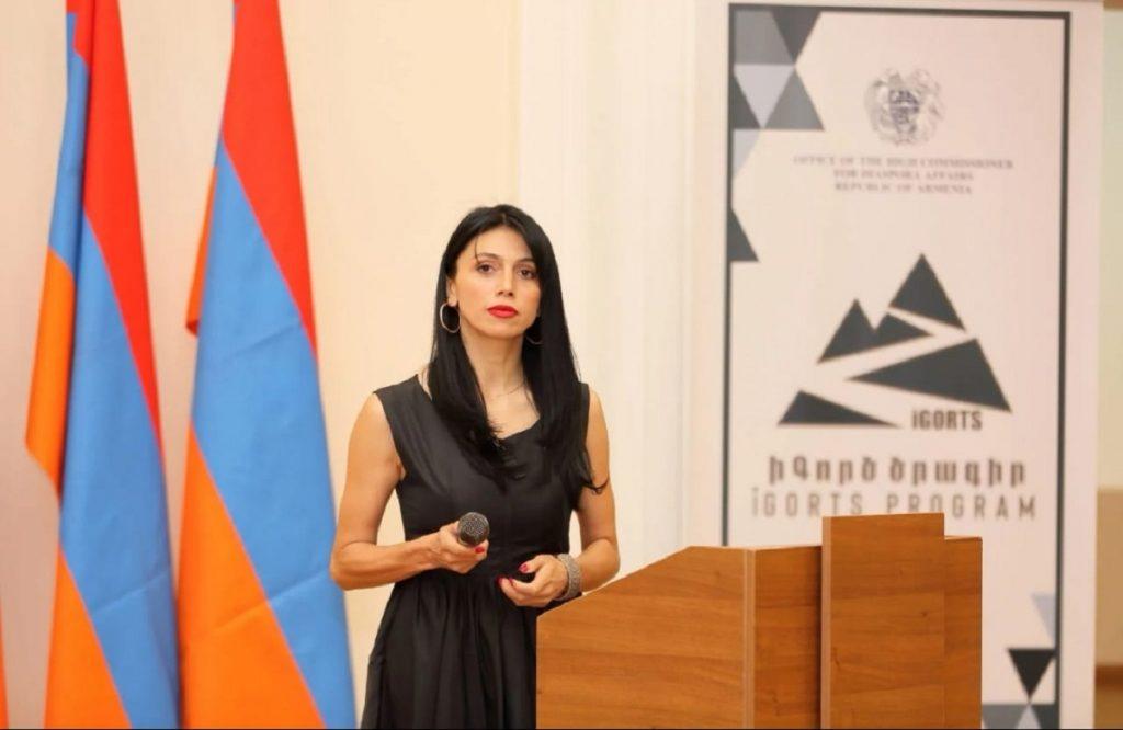 diaspora Armenians residing abroad