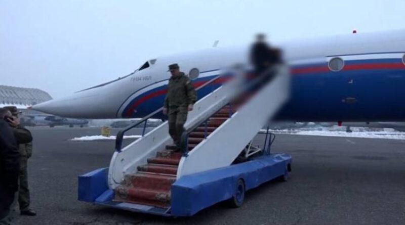 five Armenian prisoners of war returned