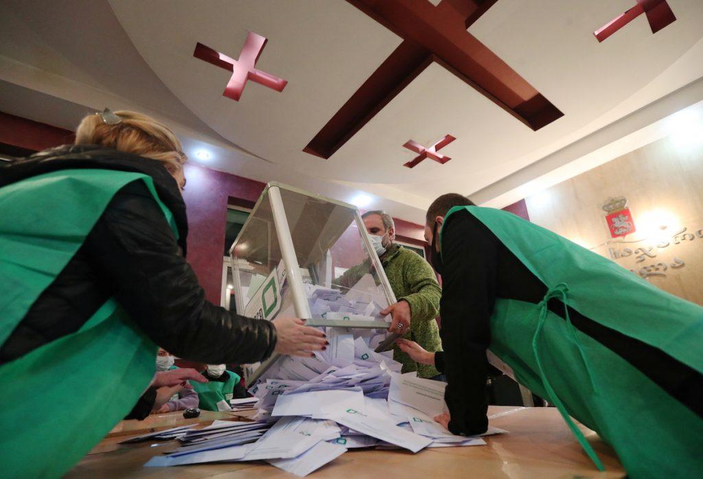 Результаты выборов в самоуправление в Грузии