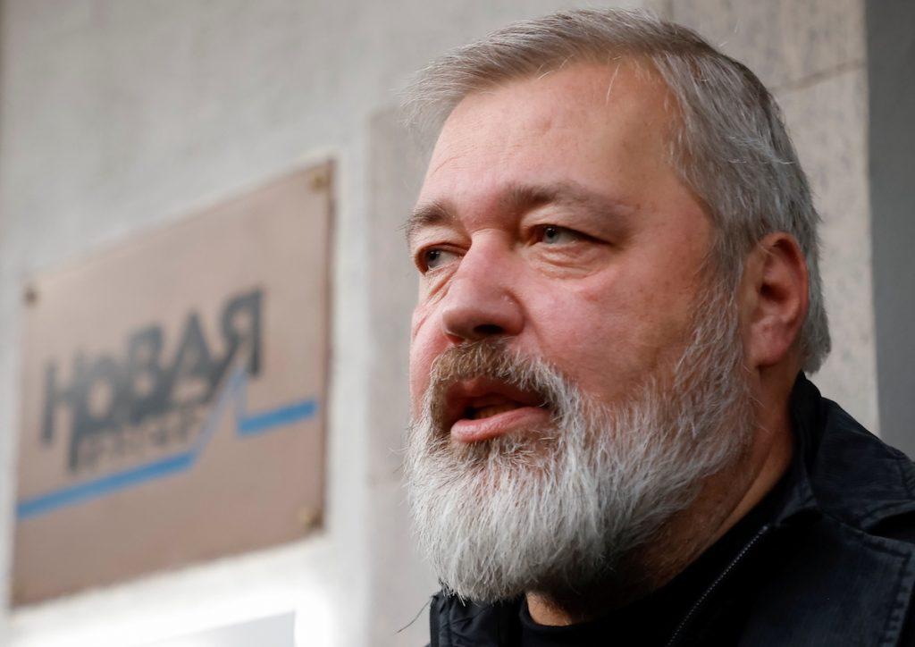 Editor of Novaya Gazeta wins Nobel Peace Prize