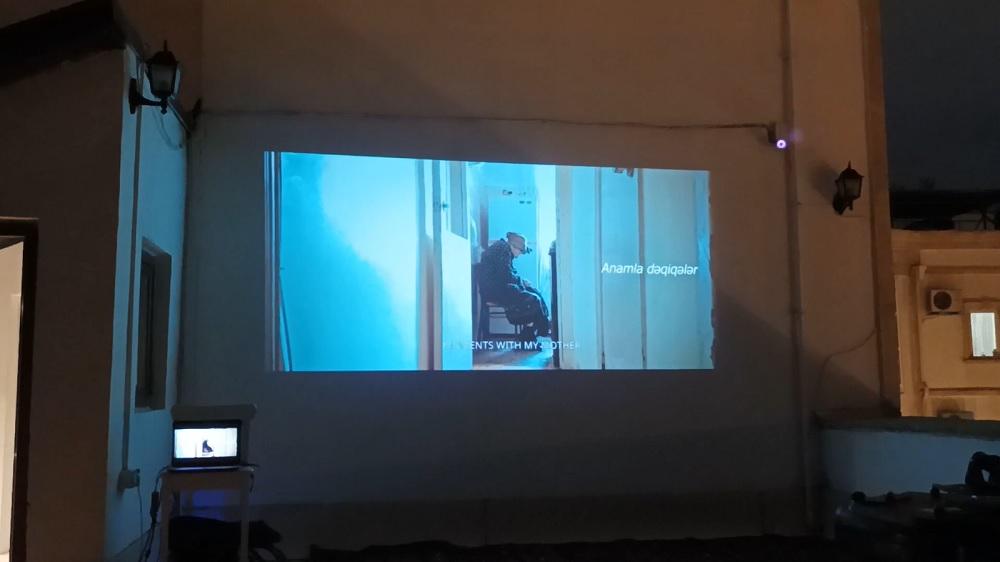 Anamla dəqiqələr kinofestival Fatimə